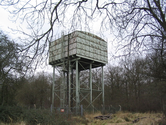 Water tower, Harry's Park Wood