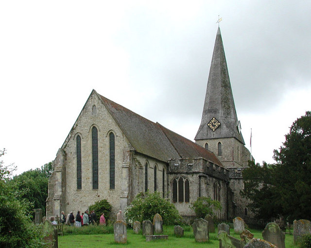 All Saints, Woodchurch, Kent