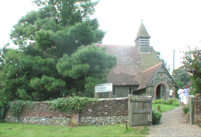 St Margaret, Hucking, Kent