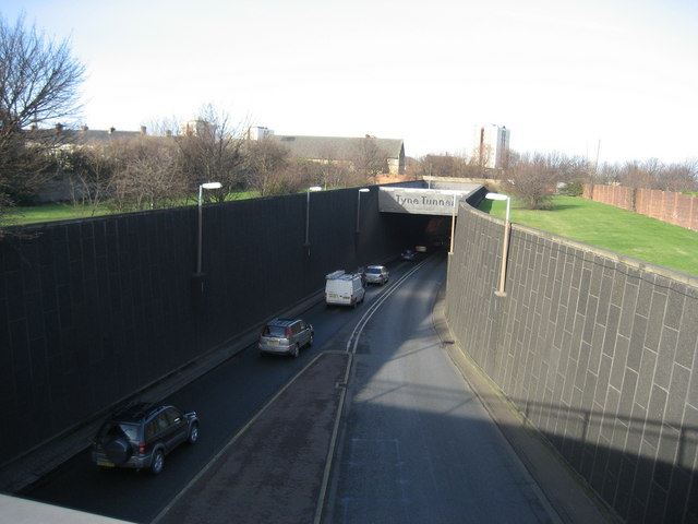 Tyne Tunnel - Southern Entrance