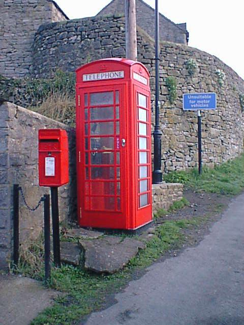 Milldale - Telephone Box and Postbox