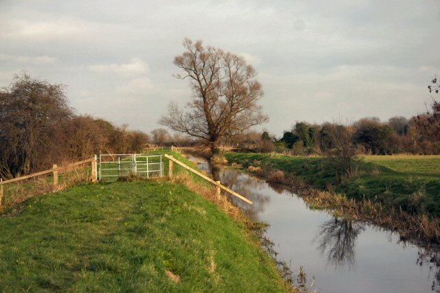 Soham Lode with footpath