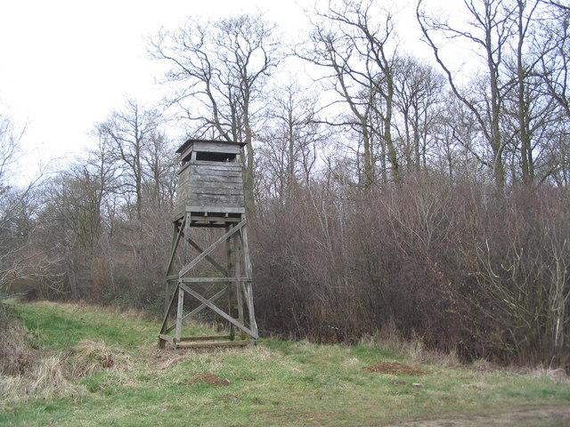 Watch tower, Fermyn Woods