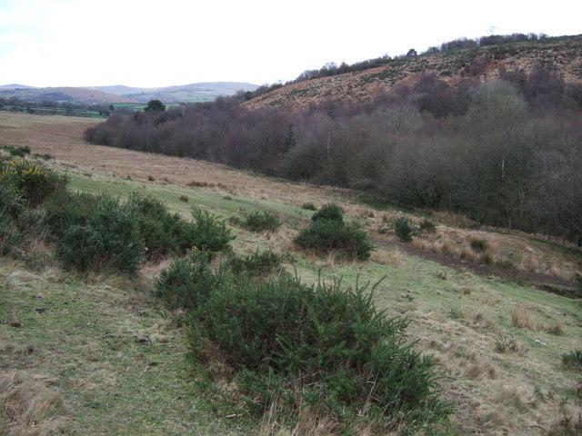 The Burn valley at Smallacombe Bottom