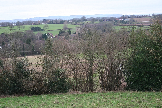 Mathon from Cockshot Hill Quarry