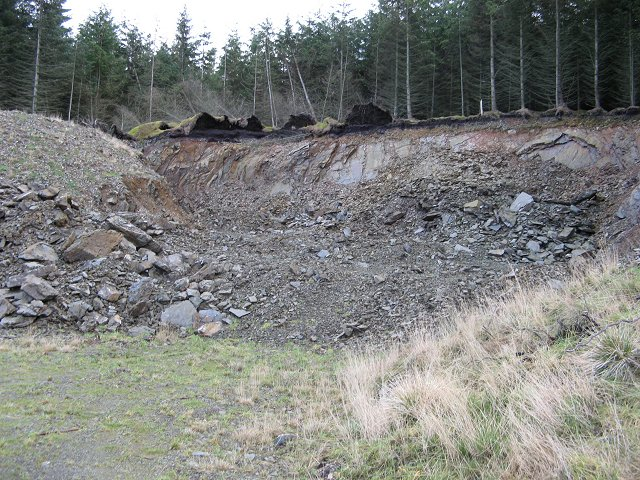 Quarry, Winghope Knowe