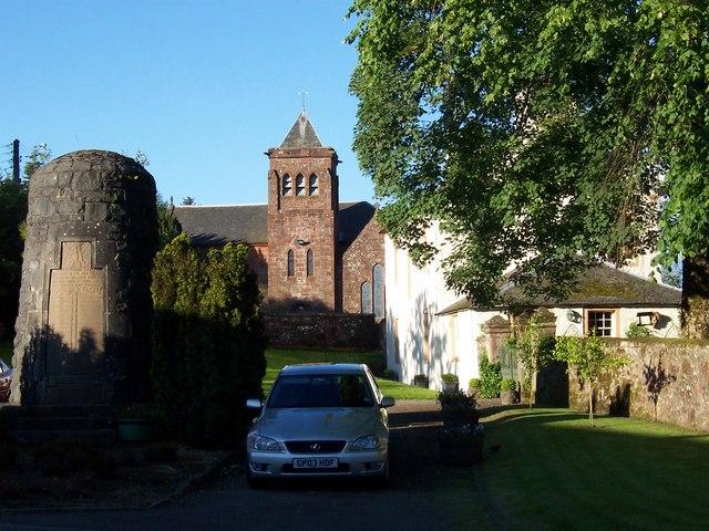 Balfron Church and war memorial