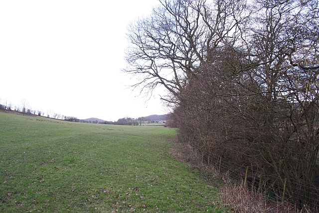 Footpath to Hill House Farm