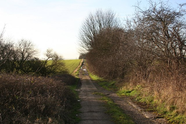 Track to Cleatham