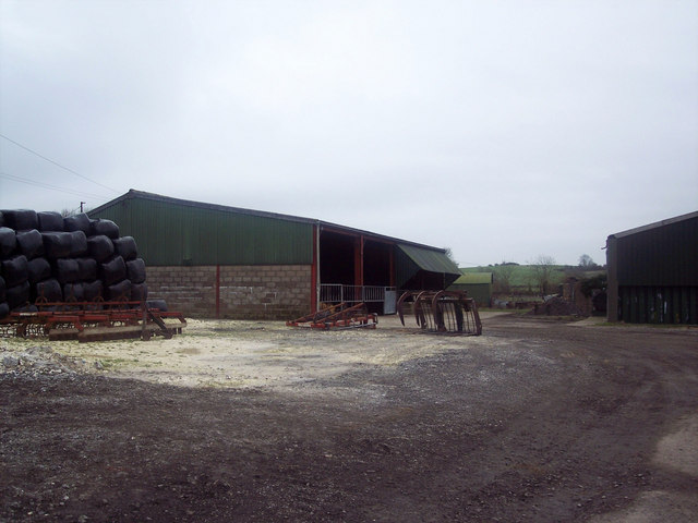 Farmyard of Croucheston Farm