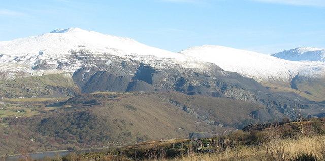 Dinorwig Quarry from Glynrhonwy