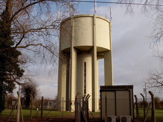 Water Tower on High Road, Swilland