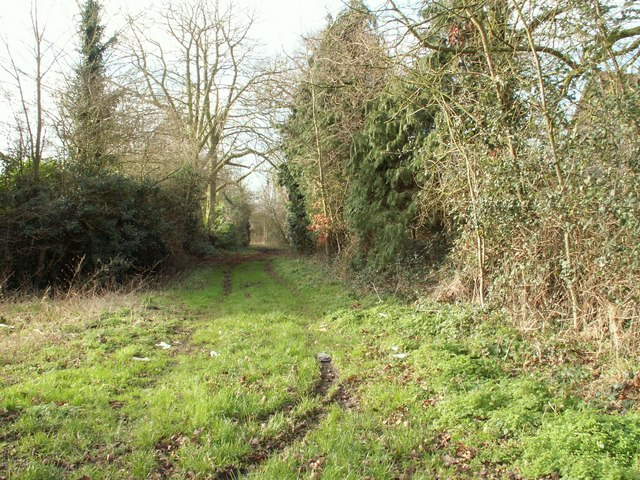 Byway, next to Otley Hall