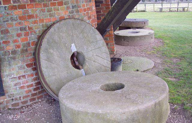Mill Stones at Wilton Windmill