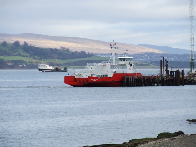 Rival Ferries at Gourock