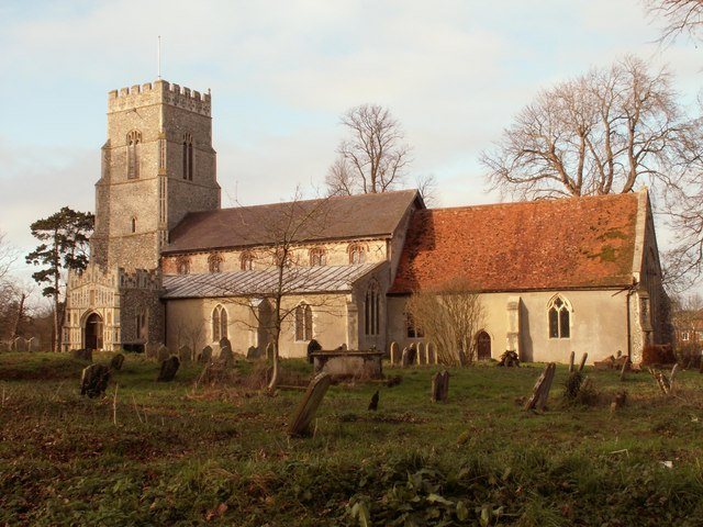 St. Mary's church at Framsden, Suffolk