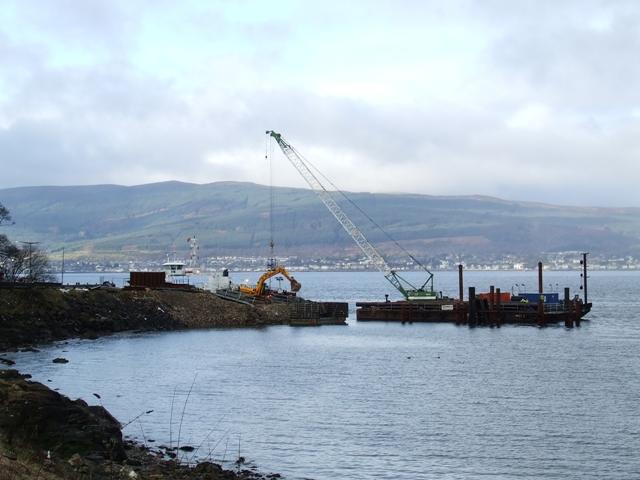 Pier Construction Site
