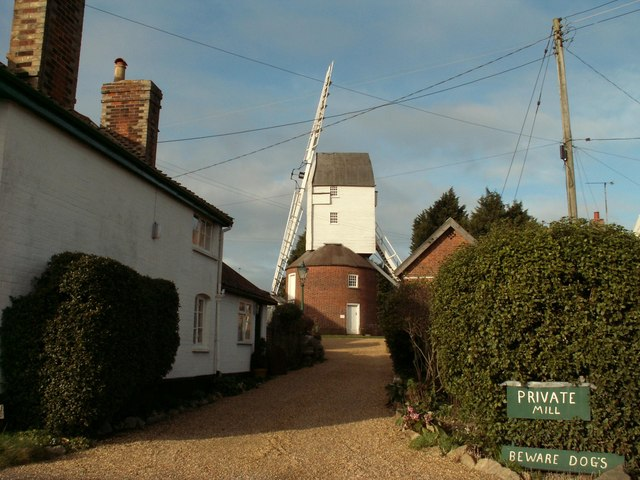 The windmill at Framsden