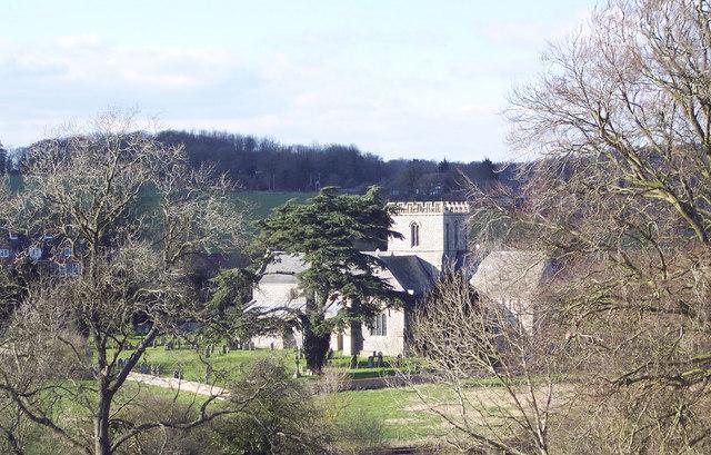 The Church at Great Bedwyn