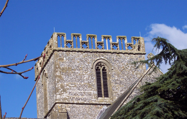 The Tower of Great Bedwyn Church