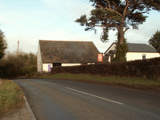 Framsden Baptist church on Chapel Hill