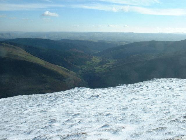 The slopes of Cadair Idris