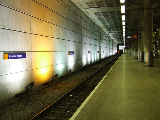 Stansted Airport Railway Station