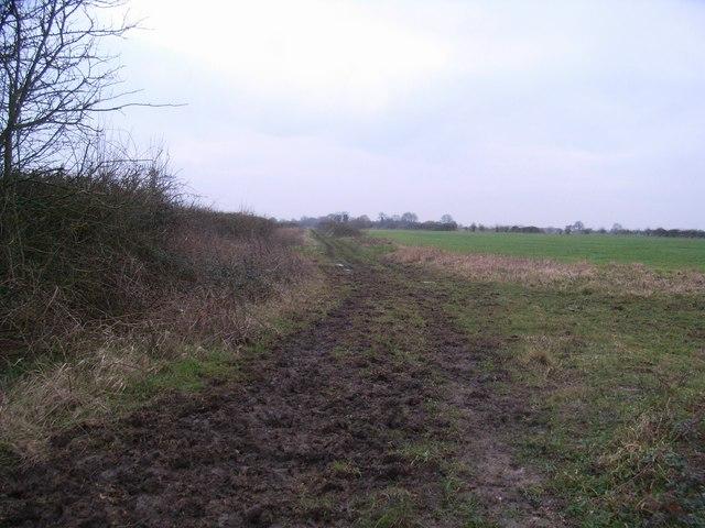 Course of railway line