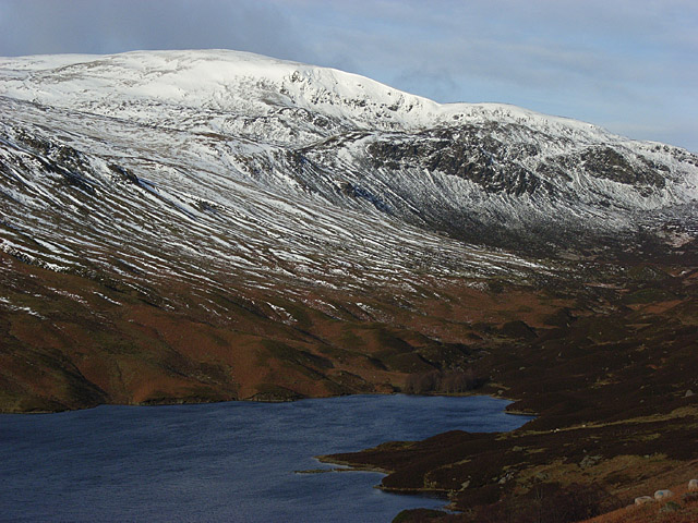 Loch Turret and Ben Chonzie