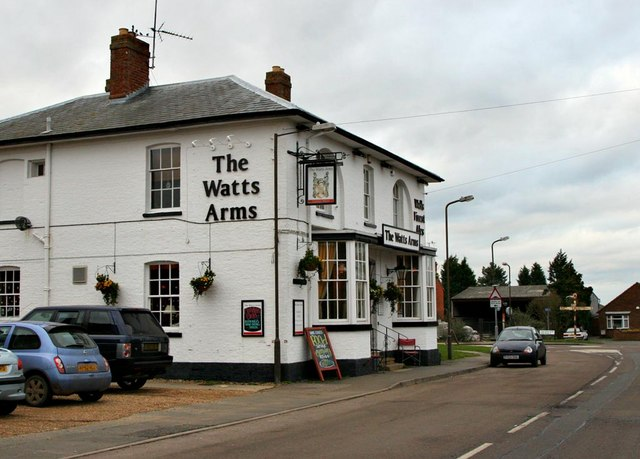 The Watts Arms in Hanslope