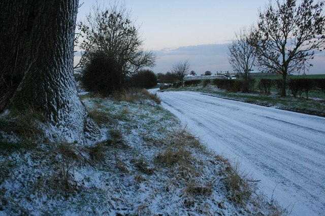 Tanton Road, Approaching Seamer