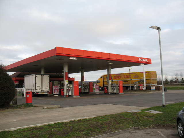 Filling Station A168 near Thirsk