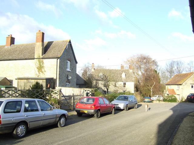 Hardwick village centre.