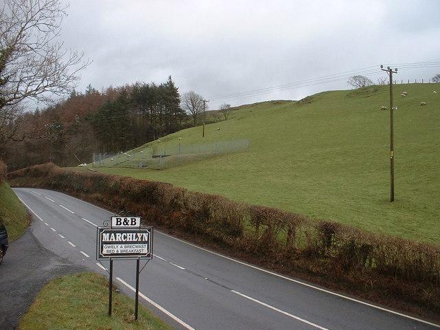 Farmland near Marchlyn