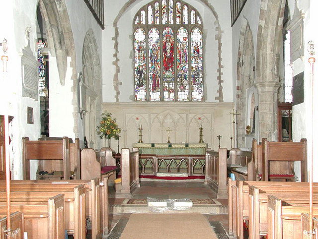 St Peter & St Paul, Lynsted, Kent - East end