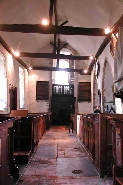 St Mary, Fordwich Kent - West end