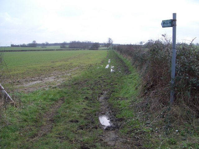 Bridleway to Clifton Spinney