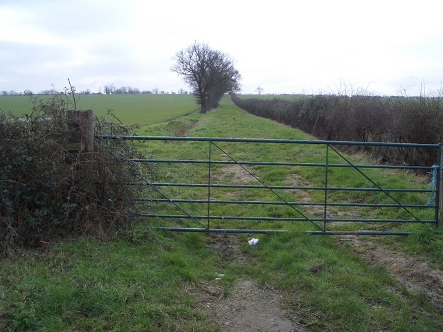 Green Lane Near Clifton Reynes