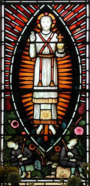 All Saints, Hartley, Kent - Window