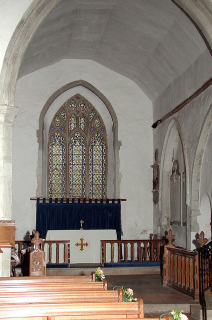 St Peter & St Paul, Ash (nr Wrotham), Kent - Chancel