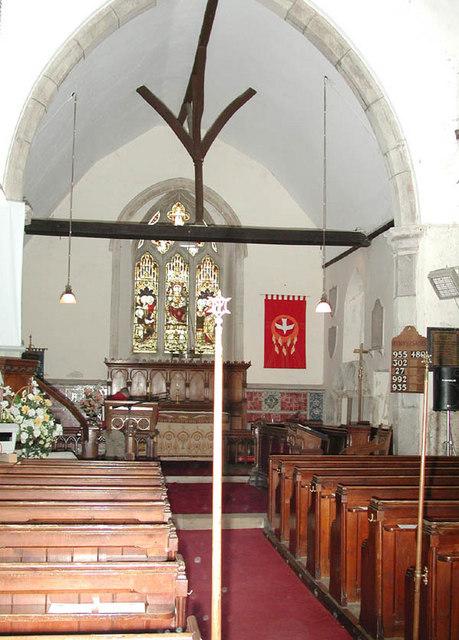 St Bartholomew, Bobbing, Kent - East end