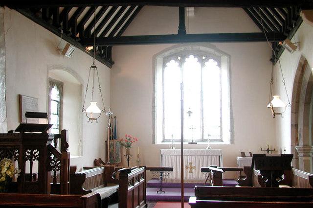 All Saints, Iwade, Kent - Chancel