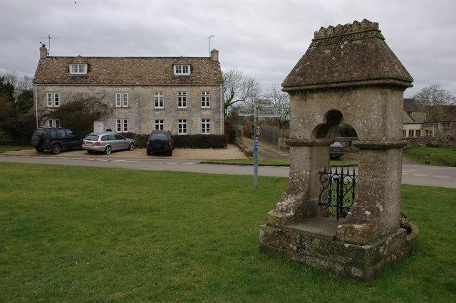 Village centre, Cherington