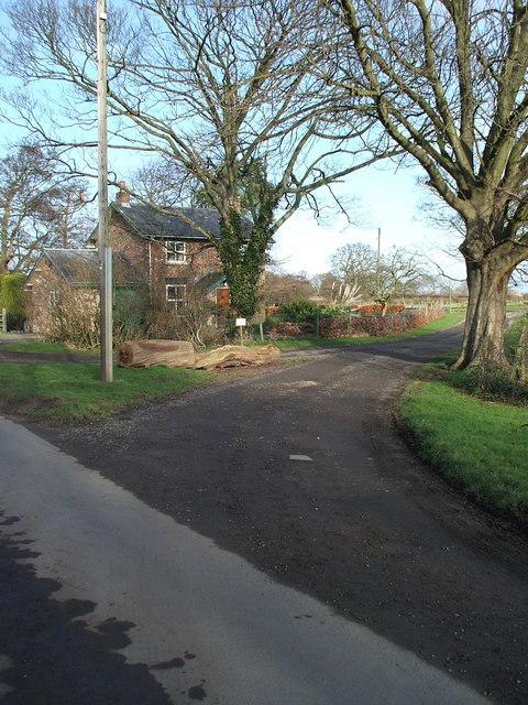 Lane end of Grange House, Moor Lane, Haxby, York