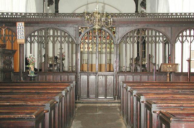 All Saints, Eastchurch, Kent - East end