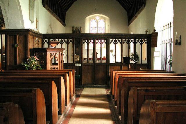 St Thomas, Harty, Kent - East end
