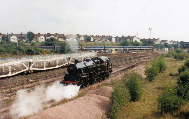 Steam at Tonbridge
