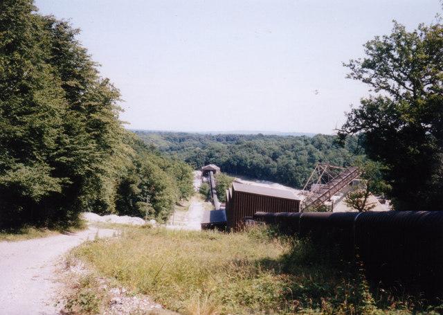 End of Conveyor Belt at Mountfield