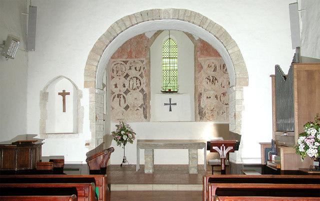 St Mary, Brook, Kent - Chancel