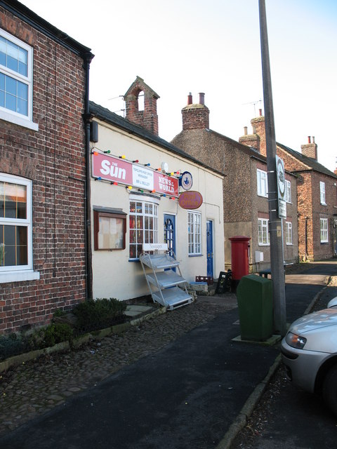 Village shop and Post Office Topcliffe